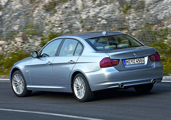 bmw 318d. BMW 318d - Freude am Fahren